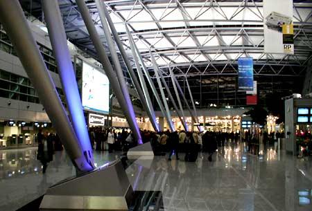 A European airport