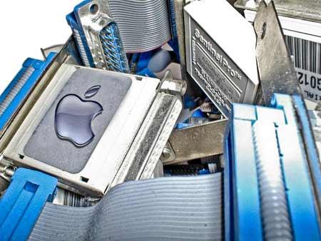 An 'Apple' dongle