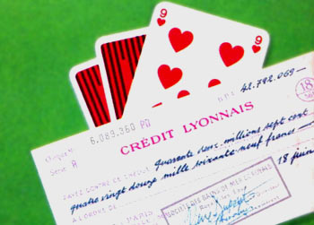Part of the cover of a late-60s Pan edition of Casino Royale