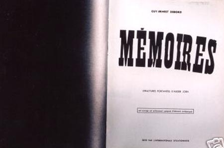 Debord's Memoires. Images from eBay