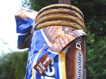 McVitie's Digestives packaging: a forcing function