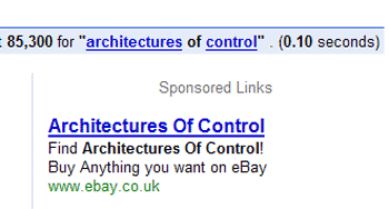 Buy Architectures of Control on eBay!