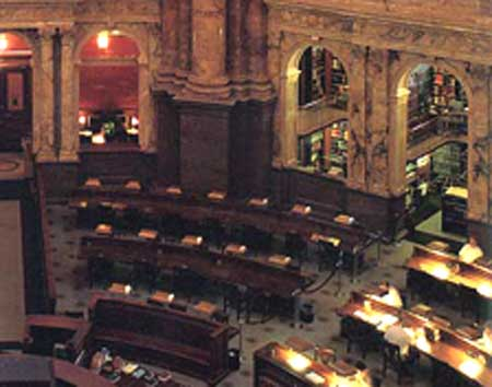 Library of Congress, Main Reading Room