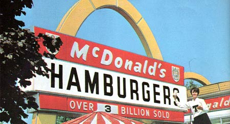 McDonald's: Image from Flickr user DRB62