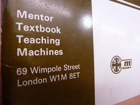 Mentor Textbook Teaching Machines: Applications of SI Metric, 1971