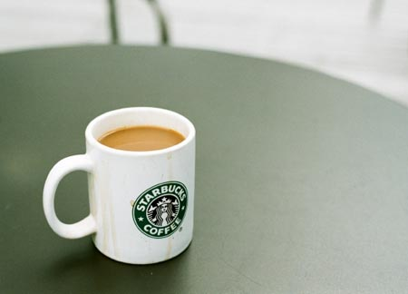 Starbucks Mug; photo by Veryfotos